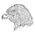 Stylised eagle vector image vector image