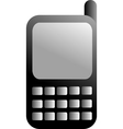 black GSM icon vector image vector image