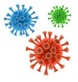 coronavirus respiratory infection vector image