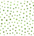 Green seamless pattern for St Patricks day vector image vector image