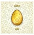 Jewelery easter egg vector image