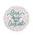 love has no gender hand drawn lettering vector image vector image