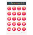 Collection of business icons vector image vector image