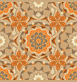 cute fabric pattern colour spring theme seamless vector image vector image