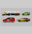 digital yellow red and green vector image vector image