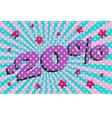 Discount retro banner vector image