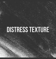 distress texture vector image vector image