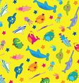 fanny fish vector image vector image