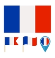 France country flag vector image vector image