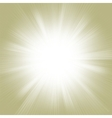 gold burst vector image vector image