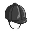 jockey hat icon vector image