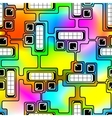 Motley robots vector image vector image