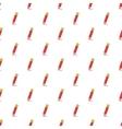 Pencil pattern cartoon style vector image