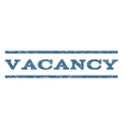 Vacancy Watermark Stamp vector image vector image