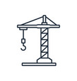 building crane icon symbols vector image
