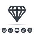diamond icon jewelry gem sign