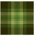 Green Tartan Pattern Design vector image vector image