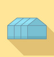 home greenhouse icon flat style vector image