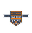 home repair construction work tools icon vector image vector image