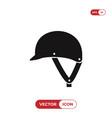 jockey hat icon vector image