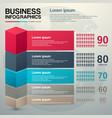 modern business charts modern vector image
