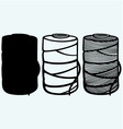 Roll of twine cord vector image vector image
