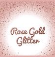 Rose gold glitter background pink golden