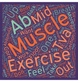 Steps To Six Pack Abs text background wordcloud vector image vector image