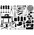 Tailoring equipment vector | Price: 1 Credit (USD $1)