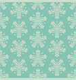 tile green seamless floral for decoration vector image vector image