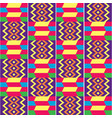 african kente seamless textile pattern vector image vector image