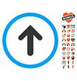 Arrow up icon with love bonus