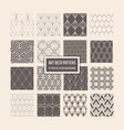 art deco seamless patterns 16 geometrical vector image