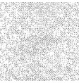 black abstract grunge texture dotted on white vector image
