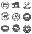 butcher vector image vector image