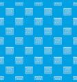 calendar for schedule pattern seamless blue vector image vector image