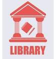 library desing vector image