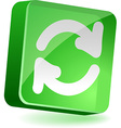 Refresh Icon vector image