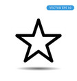 star icon eps10 vector image