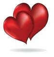 Hearts symbol of love element design vector image