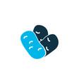 beans icon colored symbol premium quality vector image