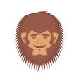 bigfoot asleep emotion face yeti sleeping emoji vector image vector image