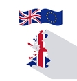 Brexit of the eruropean union design vector image vector image