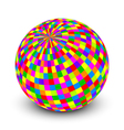 colorful ball vector image vector image