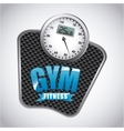 gym label design vector image vector image