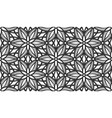 lace flower bud floral repeat seamless pattern vector image vector image