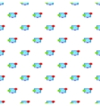Messages on computer pattern cartoon style vector image vector image