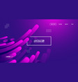 purple gradient geometric background flat layout vector image vector image
