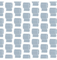 toilet paper pattern background vector image