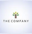 tree logo ideas design vector image vector image